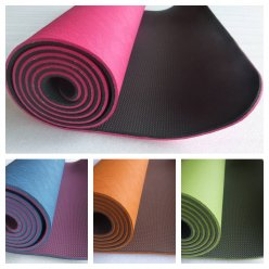 TPE Yoga Mat PROFI NEW - nesmekavá, výběr barev