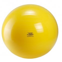 GYMNIC Classic gymnastický míč průměr 75 cm - žlutý