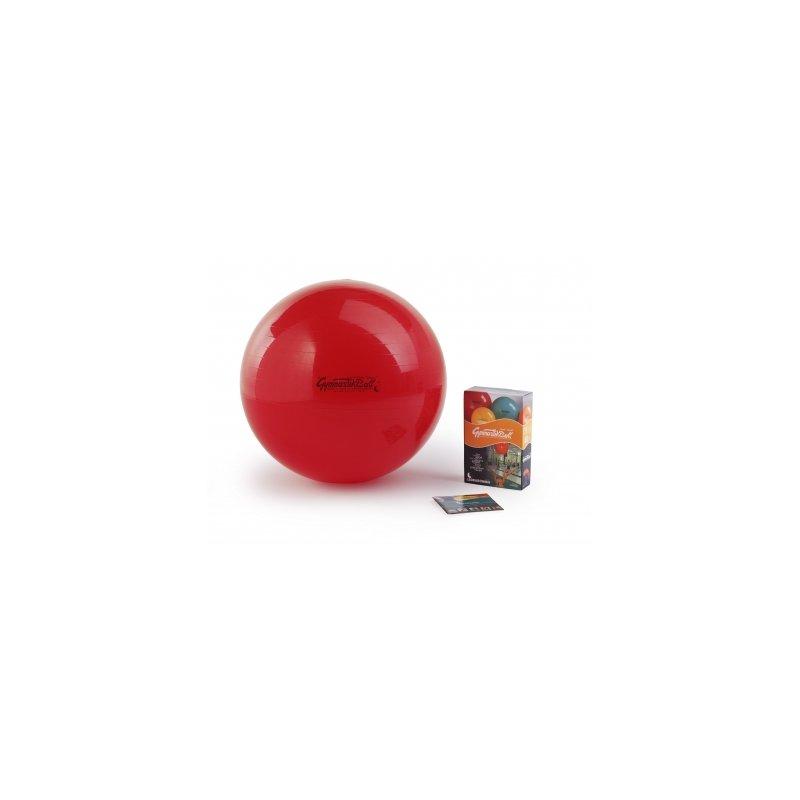 LEDRAGOMMA GymnastikBall standard průměr 75 cm červená