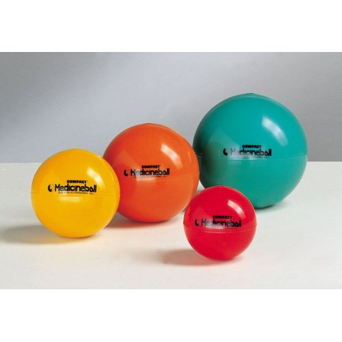 LEDRAGOMMA Compact Medicineball 1 kg průměr 12 cm