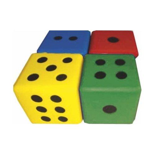 Pěnová hrací kostka 8 x 8 cm - tečky