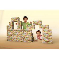 Cihličky - velká dětská stavebnice - 24 nebo 48 ks