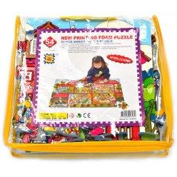 Milá rodinka EVA - dětská puzzle podložka 54 ks (PN230P)