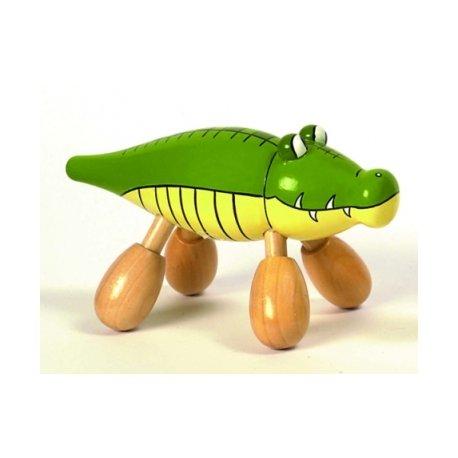 Masážní zvířátko krokodýl