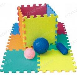 Pěnové puzzle desky 30 x 30 cm - celobarevné, 10 ks (Lee puzzle FM946)