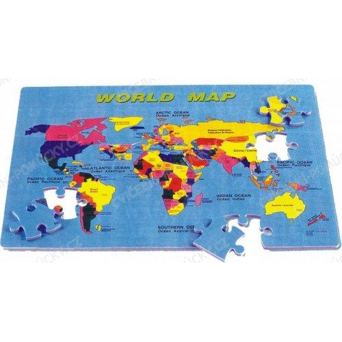 Mapa světa EVA - podložka 54 ks (PN200)