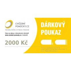 Dárkový poukaz v hodnotě 2000 Kč