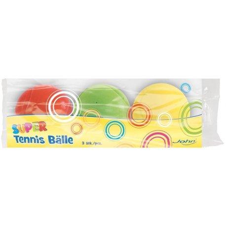Set míčků 70mm 3ks hladké s prolisem