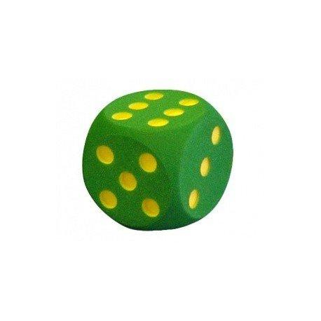 Pěnová hrací kostka 40x40 cm tečky