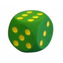 Pěnová hrací kostka 30x30 cm tečky