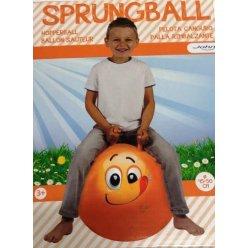 JOHN Skákací míč Hop Obličej 45 - 50 cm