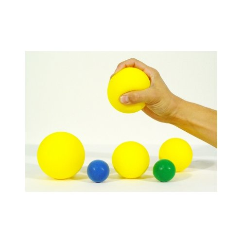 Míček soft super průměr 5,5 cm žlutá