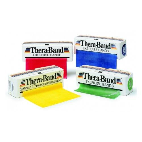 THERA-BAND Thera band posilovací pás středně silný červená
