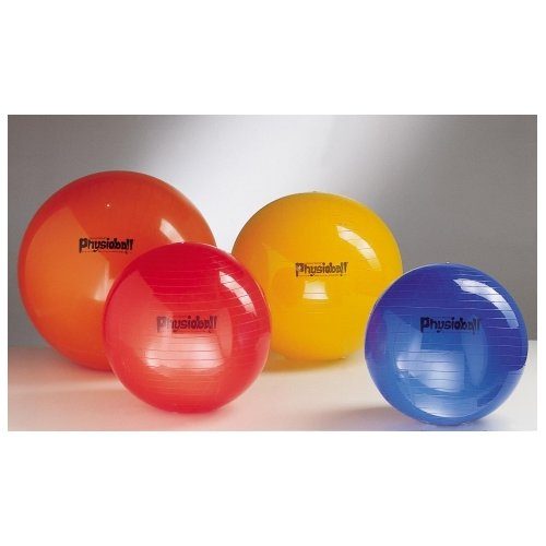 LEDRAGOMMA Physioball standard průměr 95 cm červený