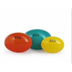 LEDRAGOMMA Egg Ball Standard průměr 55 cm - oranžová