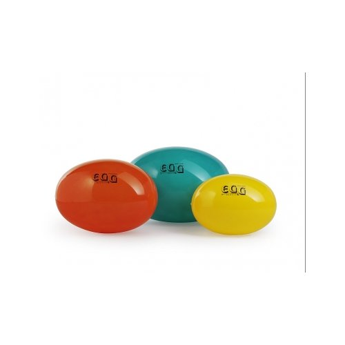 LEDRAGOMMA Egg ball elipsa standard průměr 55 cm oranžová