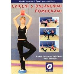 Cvičení s balančními pomůckami - DVD