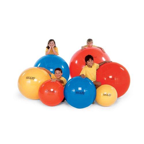 Gymnastický míč Gymnic průměr 75 cm žlutý