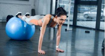 Cvičení na gymnastických míčích